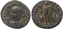 Ancient Coins - Roman coin of Licinius II -  IOVI CONSERVATORI CAESS - Antioch