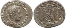 Ancient Coins - Roman Provincial coin of Gordian III AR Tetradrachm of Antioch, Syria