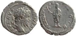Ancient Coins - Septimius Severus Denarius - FVNDATOR PACIS
