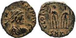 Ancient Coins - Roman coin of Honorius - GLORIA ROMANORVM - Cyzicus