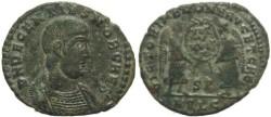 Ancient Coins - Roman coin of Decentius - AE Centenionalis - VICTORIAE DD NN AVG ET CAE