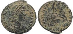 Ancient Coins - Roman coin of Constantius II - FEL TEMP REPARATIO - Constantinople Mint