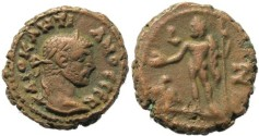 Ancient Coins - Diocletian Potin Tetradrachm minted in Alexandria, Egypt - Year 7