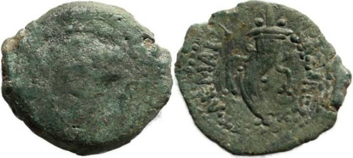 Ancient Coins - Ptolemy IV with Arsinoe III - Svoronos 1161; SNG Cop 649-650; BMC 5. - Exceptional reverse