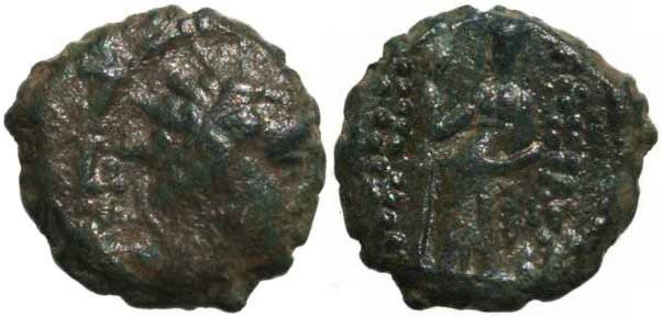 Ancient Coins - Seleukid king, Antiochus IV 175-164BC Sear GCV 6994