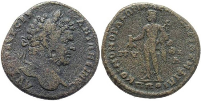 Ancient Coins - Caracalla AE 30mm of Philippopolis, Thrace