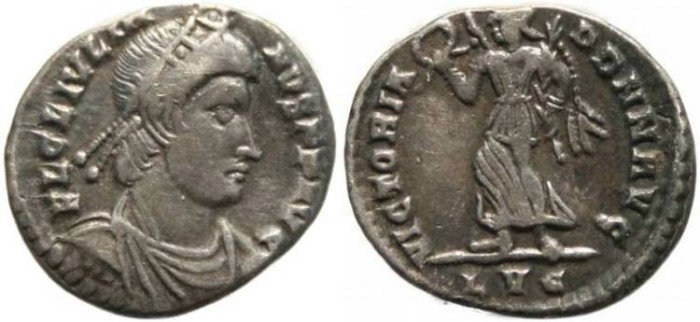 Ancient Coins - Julian II siliqua - Lugdunum mint