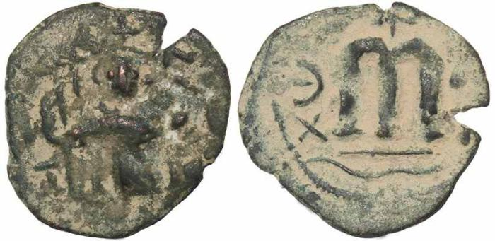 Ancient Coins - Byzantine coin of Constans II - Constantinople