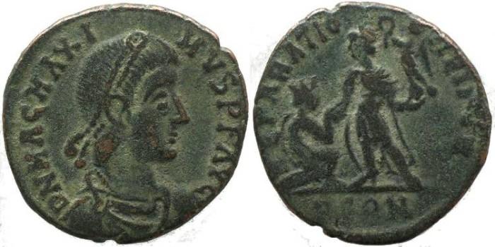 Ancient Coins - Magnus Maximus - REPARATIO REIPVB - Arelate mint