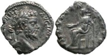 Ancient Coins - Septimius Severus 193-211AD denarius Indulgentia - Scarce