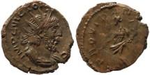 Ancient Coins - Victorinus Ae Antoninianus -  PROVIDENTIA AVG