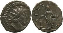Ancient Coins - Victorinus 268-270AD antoninianus -  PIETAS AVG