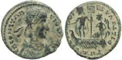 Ancient Coins - Ancient Roman coin of Constantius II - Double Centenionalis - 6.23 grams