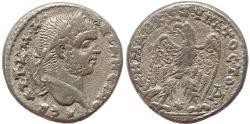 Ancient Coins - Roman Provincial coin of Caracalla AR Tetradrachm of Antioch, Syria