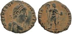 Ancient Coins - Theodosius I AE2 392-395 AD - GLORIA ROMANORVM - Antioch