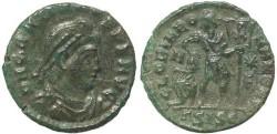 Ancient Coins - Roman coin of Gratian - GLORIA ROMANORVM - Siscia