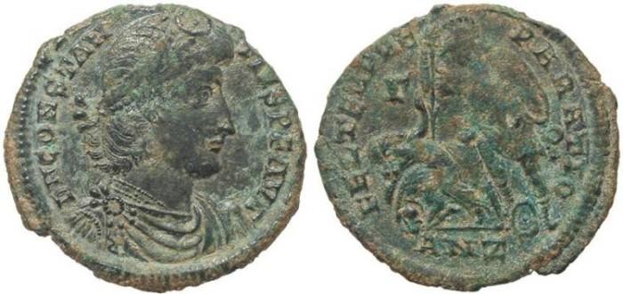 Ancient Coins - Ae2 of Constantius II -  FEL TEMP REPARATIO - Antioch Mint