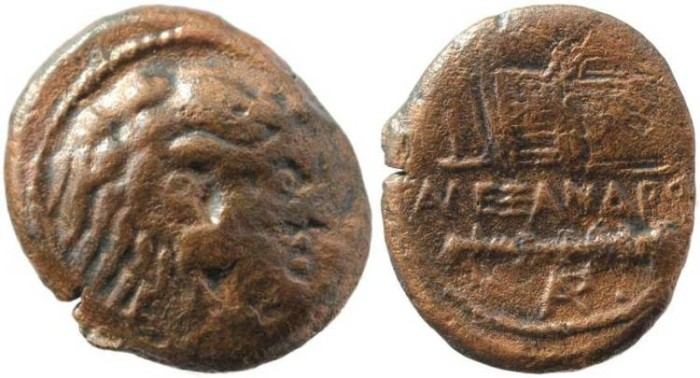 Ancient Coins - Alexander III the Great of Macedon, 336-323 BC