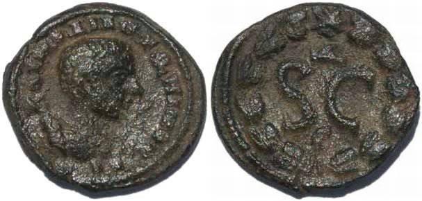 Ancient Coins - Diadumenian Ae18 Antiochia ad Orontem SGI 3017
