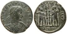 Ancient Coins - Constantius II 337-361AD GLORIA EXERCITVS - Rome Mint