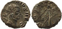 Ancient Coins - Claudius II silvered antoninianus - PROVIDENT AVG