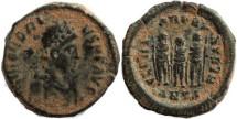 Ancient Coins - Honorius - GLORIA ROMANORVM - RIC X Antioch 153