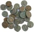 Ancient Coins - 25 Roman Egyptian Potin Tetradrachms