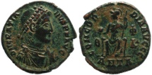 Ancient Coins - Roman coin of Gratian - CONCORDIA AVGGG - Antioch