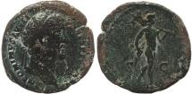 Ancient Coins - Roman coin of Antoninus Pius - Mars