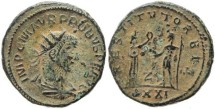 Ancient Coins - Probus Antoninianus - RESTITVT ORBIS
