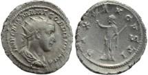 Ancient Coins - Gordian III AR silver antoninianus - PAX AVGVSTI - Convex strike