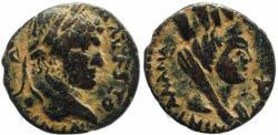 Ancient Coins - Roman coin of Caracalla -  COL MET ANTONINIANA AVR ALEX - Carrhae, Mesopotamia