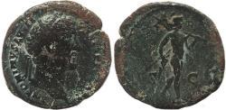 Ancient Coins - Roman coin of Antoninus Pius - Mars