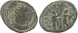 Ancient Coins - Roman coin of Valerian - antoninianus - RESTITVT ORIENTIS