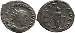 Ancient Coins - Valerian I silver antoninianus - LAETITIA AVGG