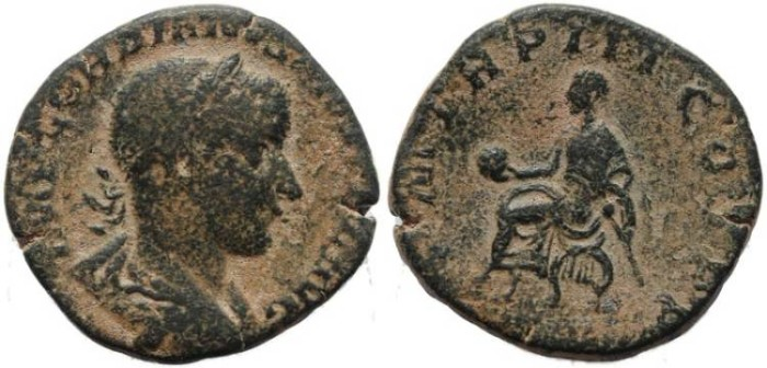 Ancient Coins - Gordian III - P M TR P III COS P P