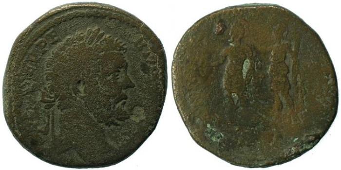 Ancient Coins - Septimius Severus 193-211AD Sestertius - RARE