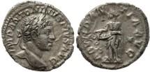 Ancient Coins - Elagabalus AR silver denarius - ABVNDANTIA AVG