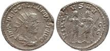 Ancient Coins - Roman coin of Gallienus silver antoninianus - VIRTVS AVGG