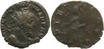 Ancient Coins - Roman Britain - Victorinus 268-270AD - PIETAS AVG