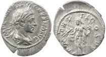 Ancient Coins - Roman Empire - Severus Alexander denarius - P M TR P II COS PP