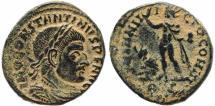 Ancient Coins - Roman coin of Constantine I - SOLI INVICTO COMITI - Rome