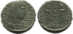Ancient Coins - Constantius II - GLORIA EXERCITVS - Arles