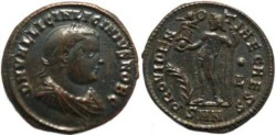 Ancient Coins - Licinius II AE follis - Nicomedia 317-320AD