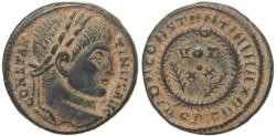 Ancient Coins - Roman coin of Constantine I - DN CONSTANTINI MAX AVG VOT XX - Aquileia