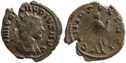 Ancient Coins - Claudius II AE Antoninianus - GENIVS EXERCI