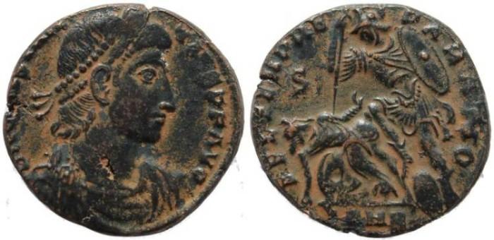 Ancient Coins - Constantius II as Augustus cententionalis - FEL TEMP REPARATIO - Antioch Mint