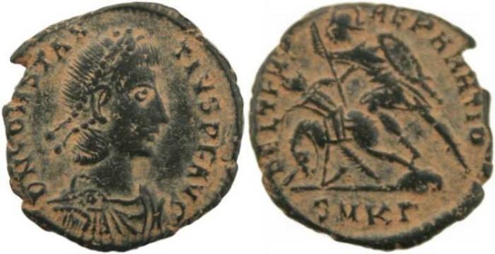 Ancient Coins - Constantius II-  FEL TEMP REPARATIO - Cyzicus Mint