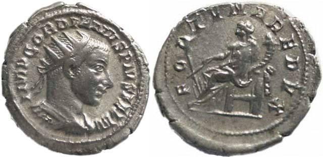 Ancient Coins - Gordian III 238-244AD Antoninianus - FORTVNA REDVX