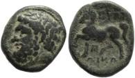 Ancient Coins - Thessaly, Gyrton Circa 350-300 BC